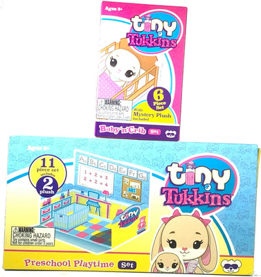 Tiny Tukkins Naptime Nursery Core Pack - Bunny & Mystery Pack