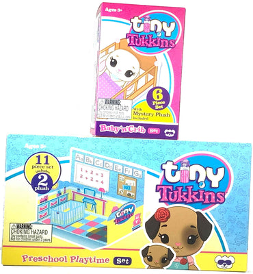 Tiny Tukkins 1 core pack Doggy plus 1 Mystery pack