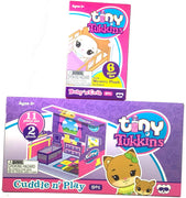 This listing is for 1 Tiny Tukkins core pack Fox plus 1 Mystery pack