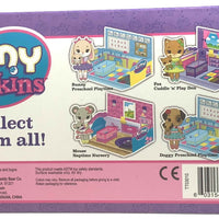 Tiny Tukkins Cuddle 'n' Play Den Core Pack - Fox back