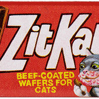 Wacky Packages Minis - Zit Kat (plus 4 Mystery) - Series 2