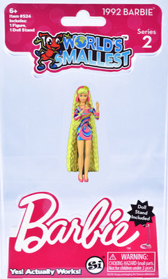 World's Smallest 1992 Barbie - Series 2