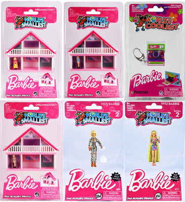 World's Smallest - Barbie Super Bundle (Dreamhouses, Camera, plus 1965 & 1992)