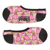 Vans Off The Wall Nitendo Canoodle Ankle Socks, Princess Peach - GBundle