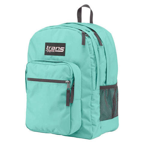 JanSport Trans Supermax Aqua Dash Backpack bag - GBundle