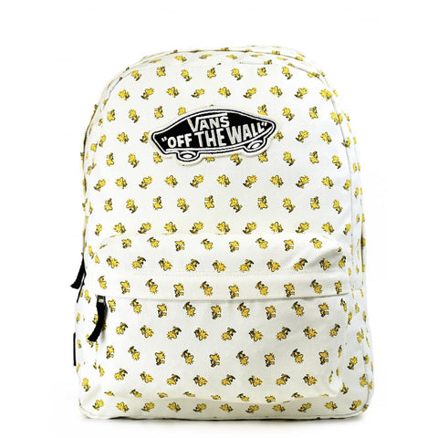 Vans Peanuts Realm Woodstock White Backpack - GBundle