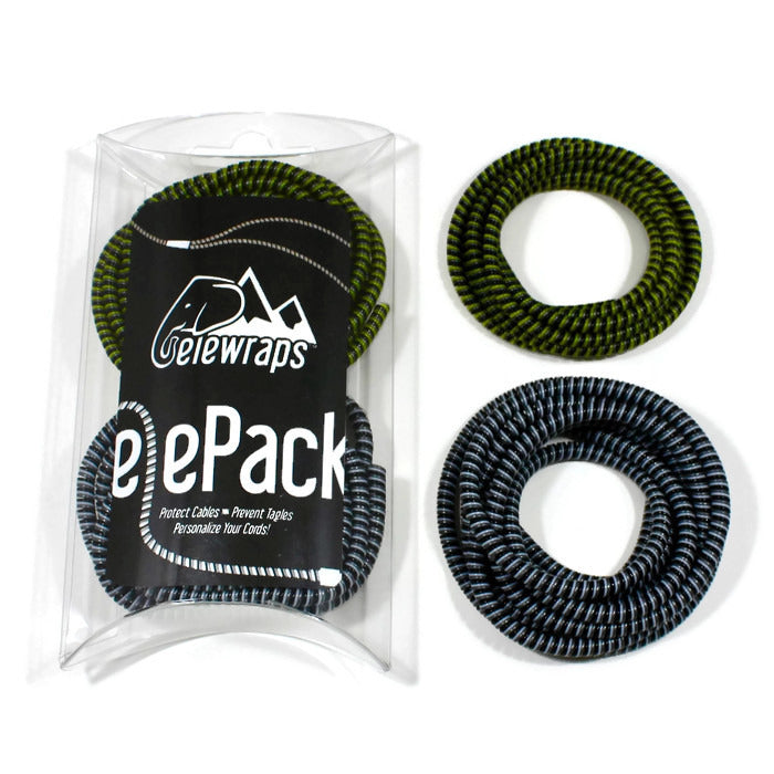 The elePack - Twin Pack of Cable Wraps