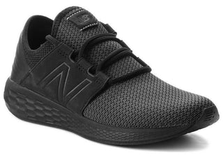 NEW BALANCE MEN'S FRESH FOAM CRUZ TRIPLE BLACK RUNNING SHOE