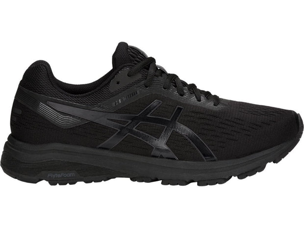 ASICS MEN'S GT-1000 7 TRIPLE BLACK RUNNING SHOE