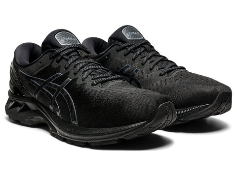 ASICS MEN'S GEL-KAYANO 27 TRIPLE BLACK RUNNING SHOES