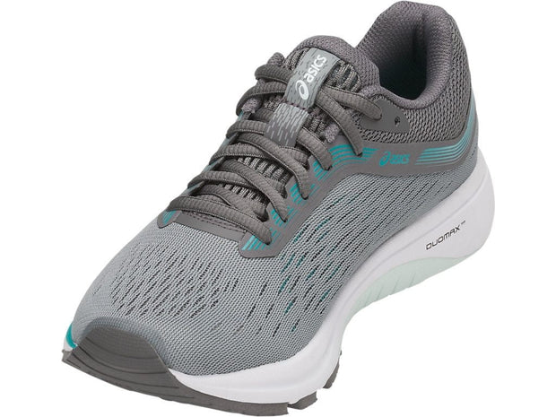ASICS WOMEN'S GT-1000 7 (D) GREY RUNNING SHOES
