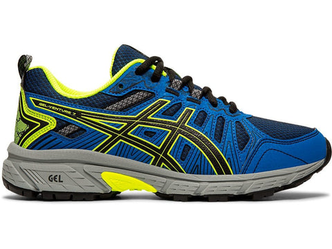 ASICS JUNIOR GEL-VENTURE 7 GS BLUE RUNNING SHOES