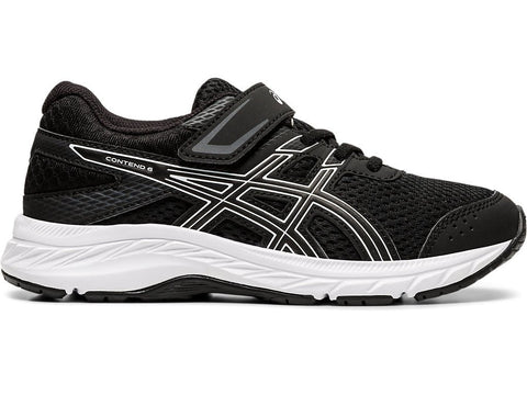 ASICS TODDLER'S GEL-CONTEND 6 PS BLACK RUNNING SHOES