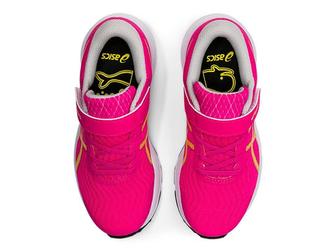 ASICS TODDLER'S PATRIOT 12 PINK RUNNING SHOES