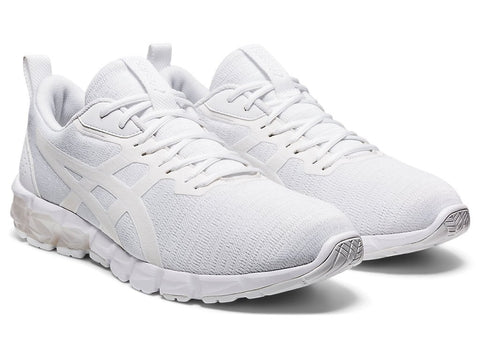 ASICS MEN'S GEL-QUANTUM 90 2 STREET WHITE RUNNING SHOES