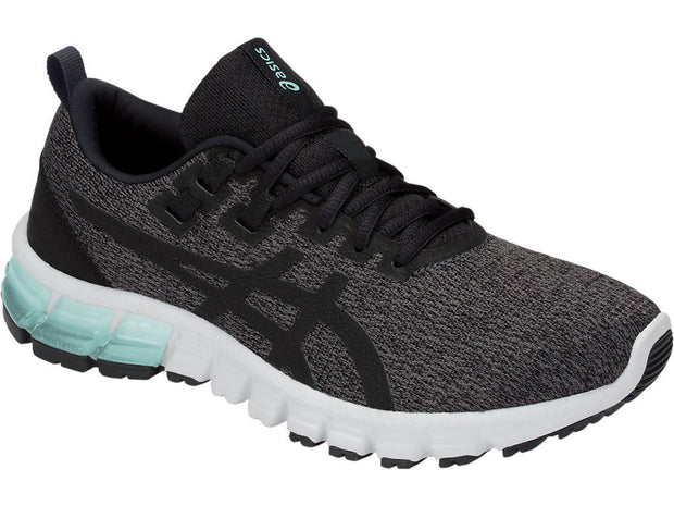 ASICS WOMEN'S GEL-QUANTUM 90 GREY RUNNING SHOES