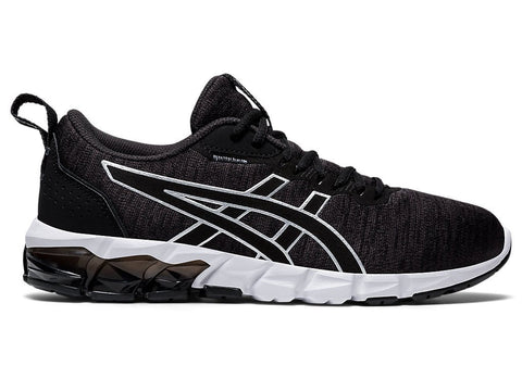 ASICS WOMEN'S GEL-QUANTUM 90 2 STREET BLACK WHITE RUNNING SHOES