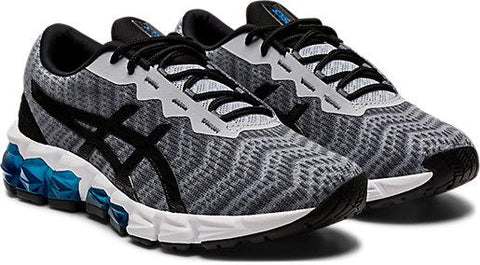 ASICS JUNIOR GEL-QUANTUM 180 5 GREY RUNNING SHOES