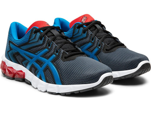 ASICS JUNIOR GEL-QUANTUM 90™ 2 BLUE RUNNING SHOES