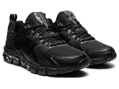 ASICS MEN'S GEL-QUANTUM 180 TRIPLE BLACK RUNNING SHOES