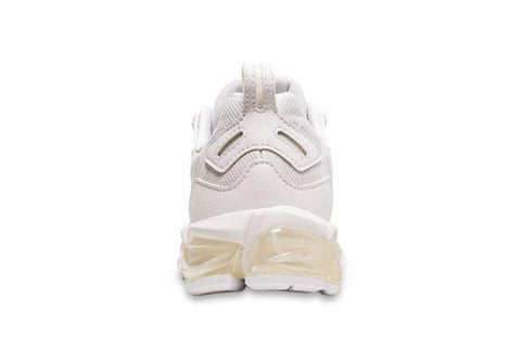 ASICS JUNIOR GEL-QUANTUM 180 TRIPLE WHITE RUNNING SHOES