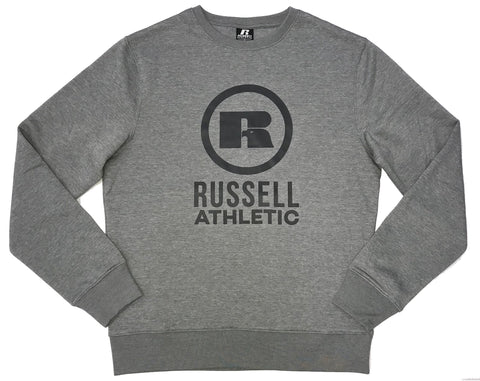 RUSSELL ATHLETICS MEN'S CIRCLE BLACK CREW