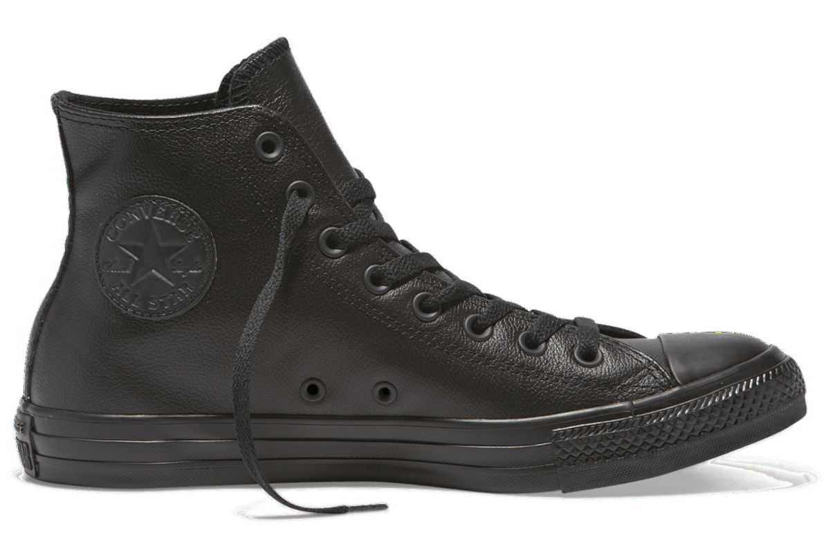 Womens Converse Leather High Top Shoes