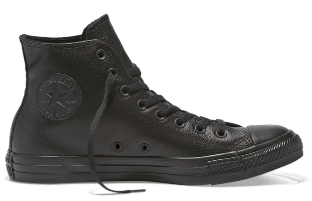 7862f007ef8d CONVERSE CHUCK TAYLOR ALL STAR LEATHER HIGH TOP BLACK – INSPORT