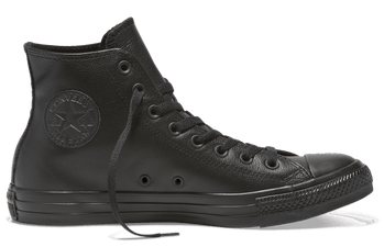 CONVERSE CHUCK TAYLOR ALL STAR LEATHER HIGH TOP BLACK - INSPORT