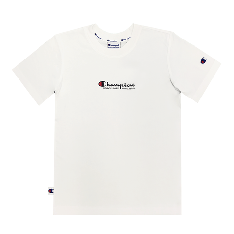 CHAMPION JUNIOR JERSEY WHITE TEE