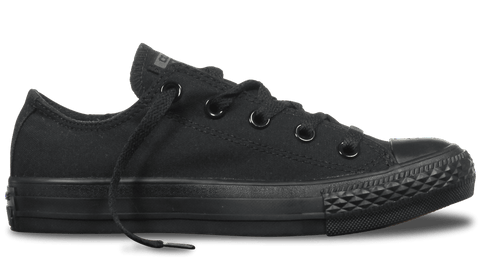 CONVERSE CHUCK TAYLOR ALL STAR LOW TOP MONOCHROME BLACK - INSPORT