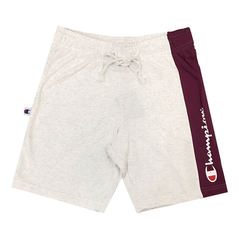 CHAMPION MEN'S FOR THE TEAM GREY/MAROON SHORTS