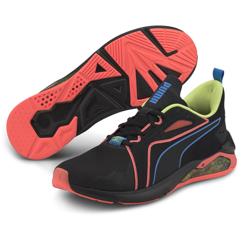 PUMA MEN'S X FIRST MILE LQDCELL METHOD XTREME BLACK TRAINING SHOES