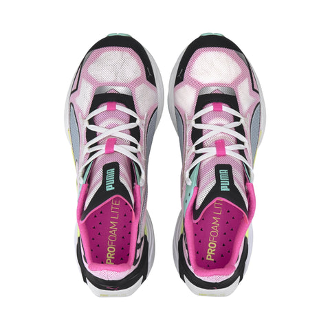 PUMA WOMEN'S ULTRARIDE PINK RUNNING SHOES