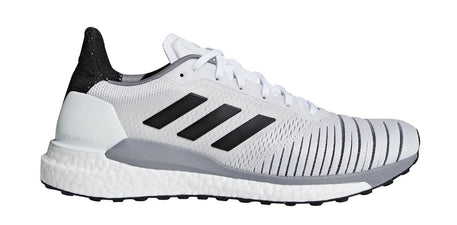 ADIDAS MEN'S RUNNING SOLAR GLIDE WHITE SHOES - INSPORT