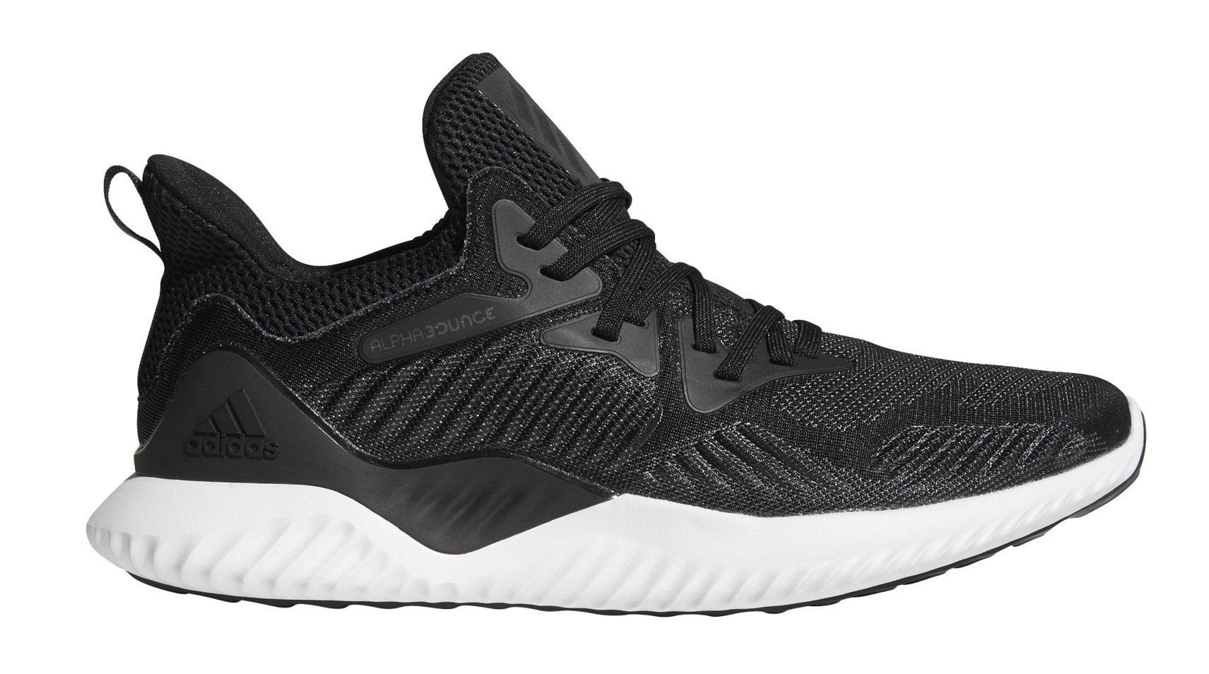 fc2e127f5bc3b ADIDAS MEN S ALPHABOUNCE BEYOND BLACK WITE SHOES – INSPORT