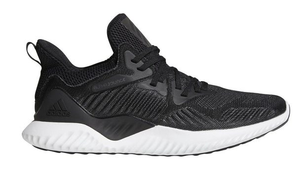 info for af031 99a94 ADIDAS MEN'S ALPHABOUNCE BEYOND BLACK/WITE SHOES