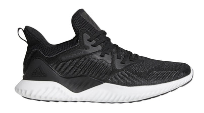 ADIDAS MEN'S ALPHABOUNCE BEYOND BLACK/WITE SHOES - INSPORT