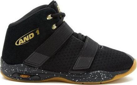 AND-1 MEN'S CHOSEN BLACK BASKETBALL SHOES - INSPORT