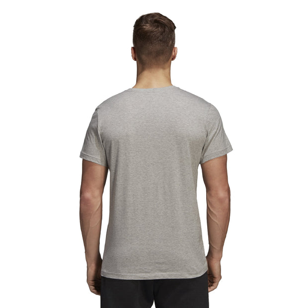 ADIDAS MEN'S EMBLEM GREY HEATHER TEE - INSPORT