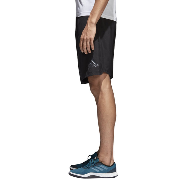 ADIDAS MEN'S 4KRFT WOVEN BLACK SHORTS - INSPORT