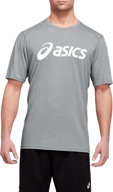 ASICS MEN'S TRIBLEND TRAINING GREY TEE