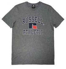RUSSELL ATHLETICS MEN'S CLASSIC GREY TEE