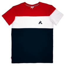 Le Coq Sportif Men's Victor Red/Navy Tee