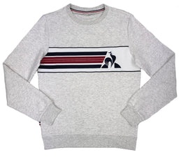 Le Coq Sportif Men's Maxime Grey Sweatshirt