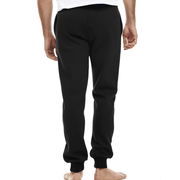 CHAMPION MEN'S SCRIPT BLACK TRACKPANTS