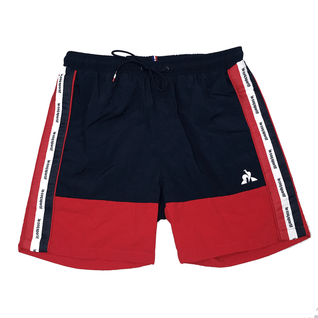 LE COQ SPORTIF MEN'S LUCAS DRESS BLUE SHORTS