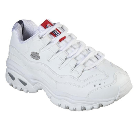 SKECHERS WOMEN'S ENERGY MILLENNIUM WHITE SHOES