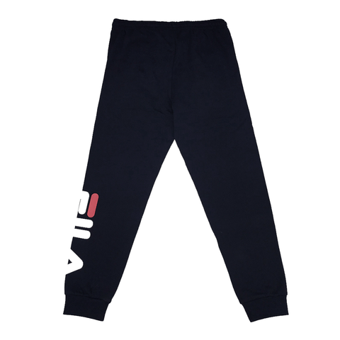 FILA MEN'S CLASSIC BLACK TRACKPANTS
