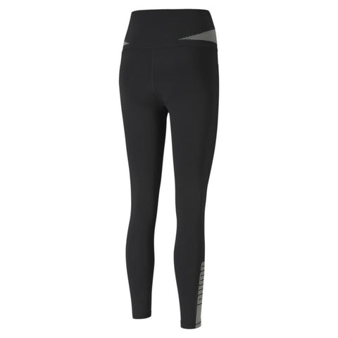 PUMA WOMEN'S EVOSTRIPE HIGH WAIST 7/8 BLACK TIGHTS